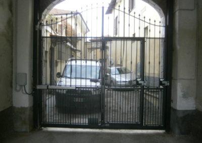 nuovo cancello battente