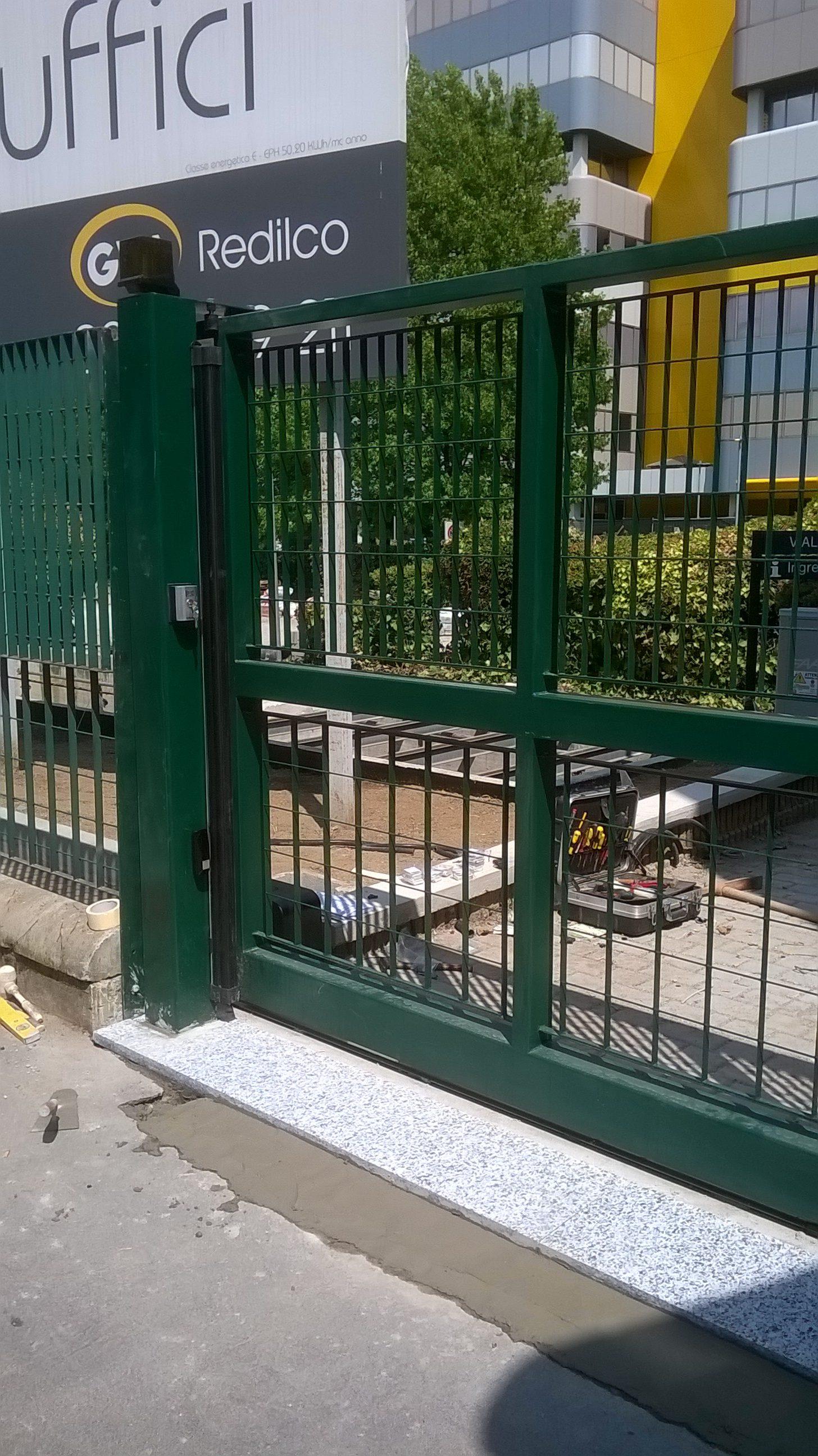 Cancello scorrevole motorizzato