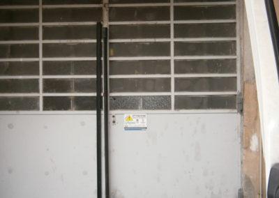 automazione portone ingresso box con prodotto faac